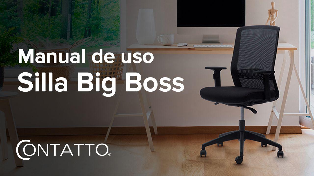 Silla Escritorio Big Boss