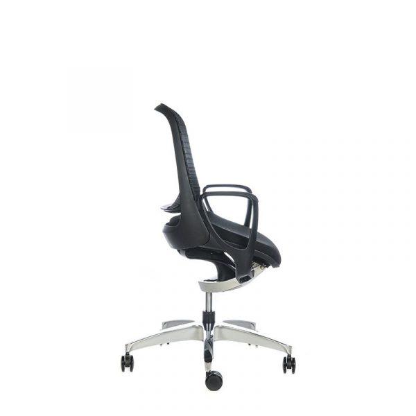 Silla escritorio luce negra negra 03