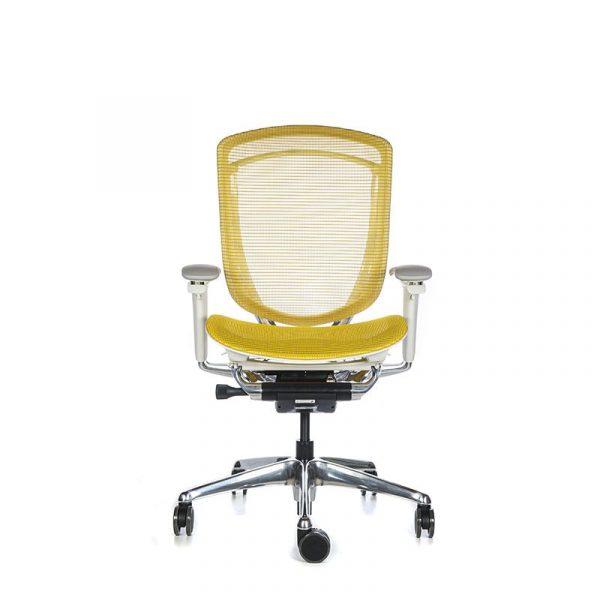 Silla escritorio contessa amarillo 001
