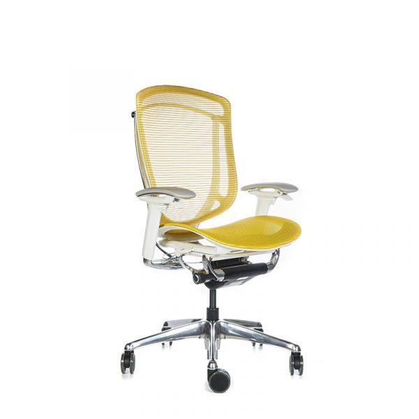 Silla escritorio contessa amarillo 002
