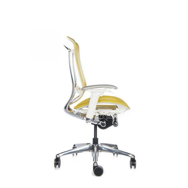 Silla escritorio contessa amarillo 03