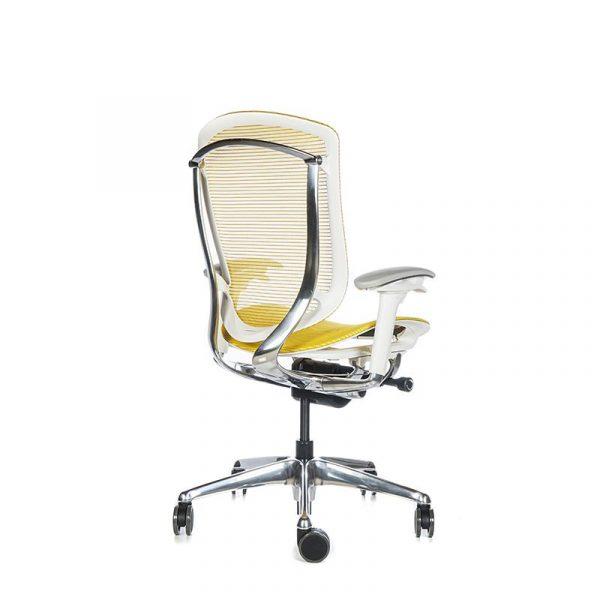 Silla escritorio contessa amarillo 04