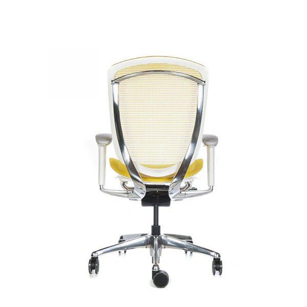 Silla escritorio contessa amarillo 05