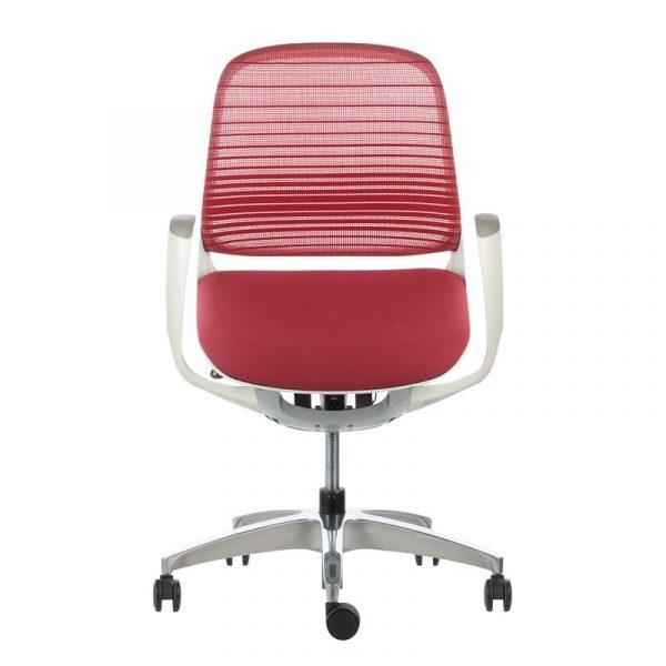 Silla escritorio luce roja 01