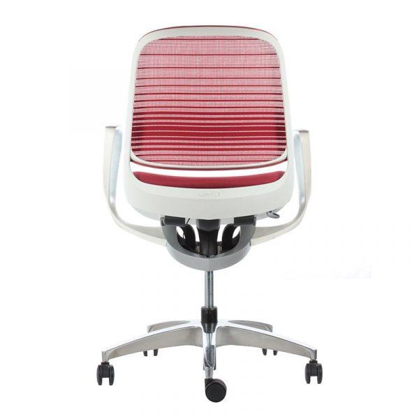 Silla escritorio luce roja 04