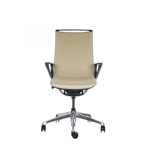 Silla escritorio plimode beige 001