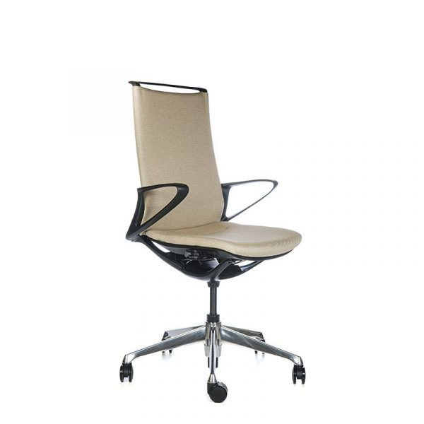 Silla escritorio plimode beige 002