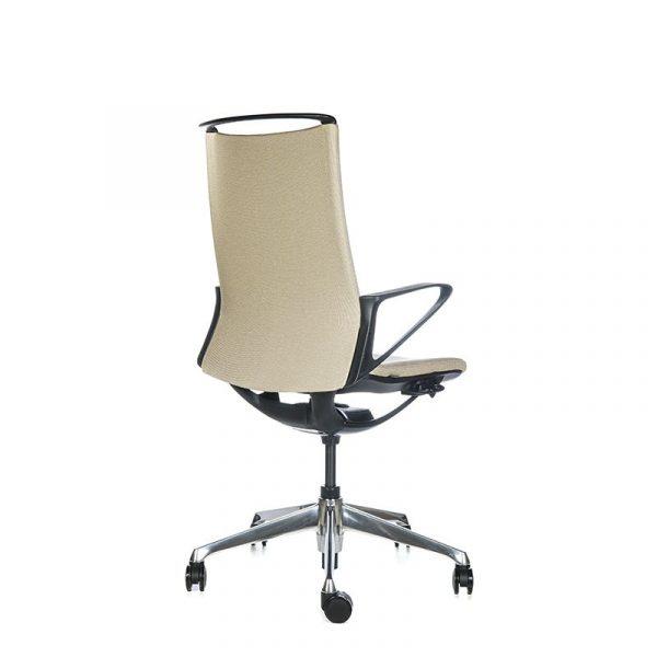 Silla escritorio plimode beige 04