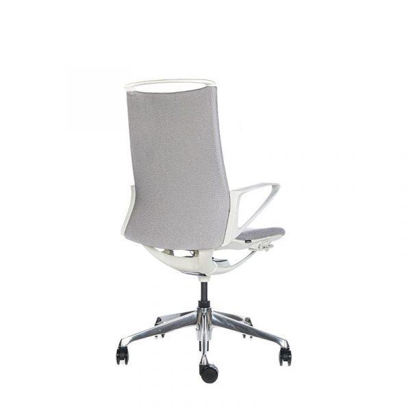 Silla escritorio plimode gris claro 04