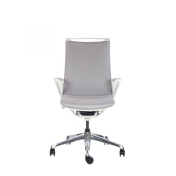 Silla escritorio plimode gris claro01