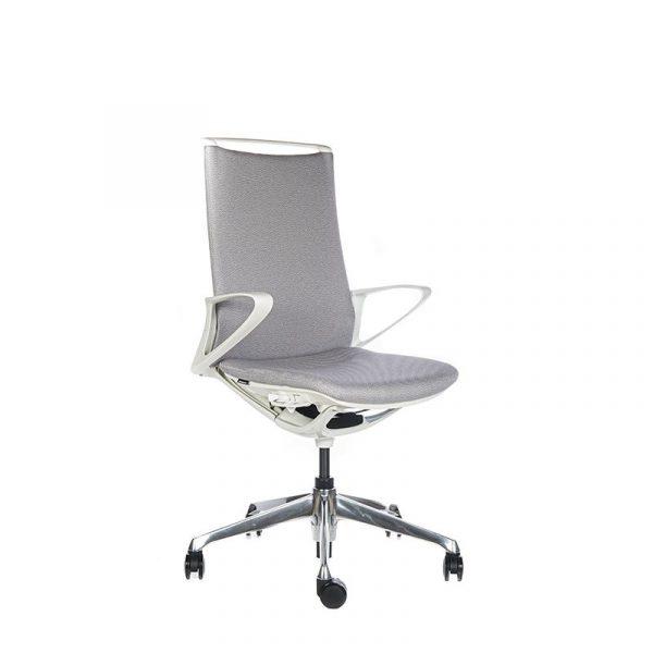 Silla escritorio plimode gris claro02