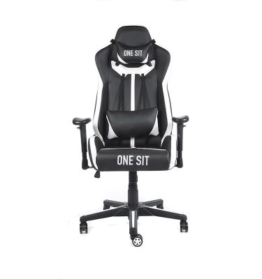 Silla gamer duty blanca 01