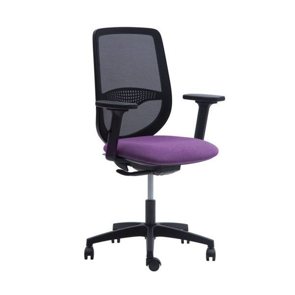 silla escritorio prima morado 02
