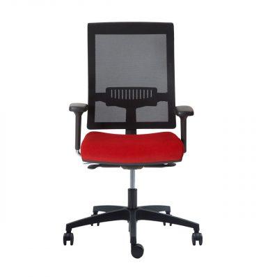 Silla escritorio Join nordic rojo 01