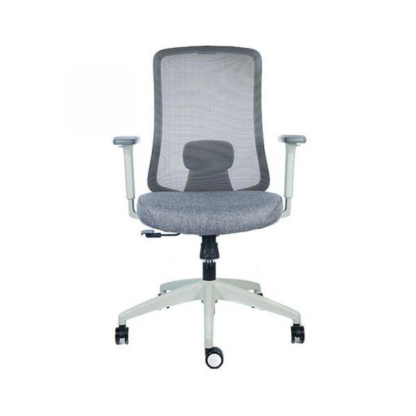 Silla escritorio diva gris verde 1