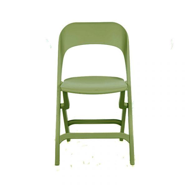 Silla cocina Flap verde olivo 01