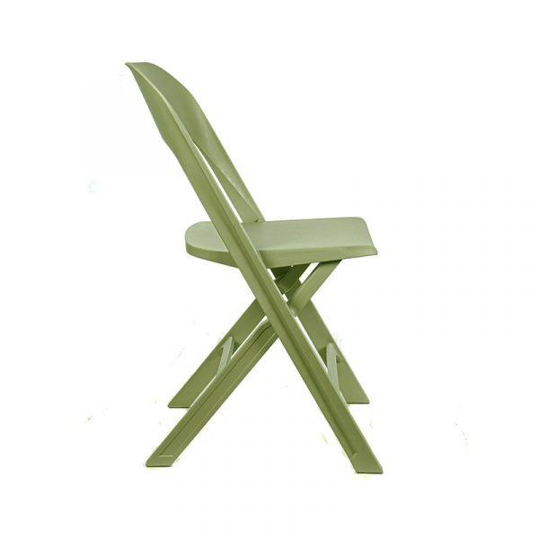 Silla cocina Flap verde olivo 03