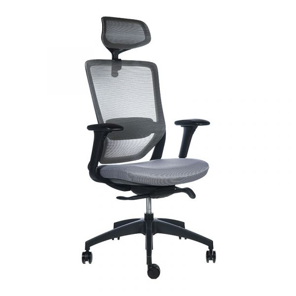 Twist negra asiento gris 2