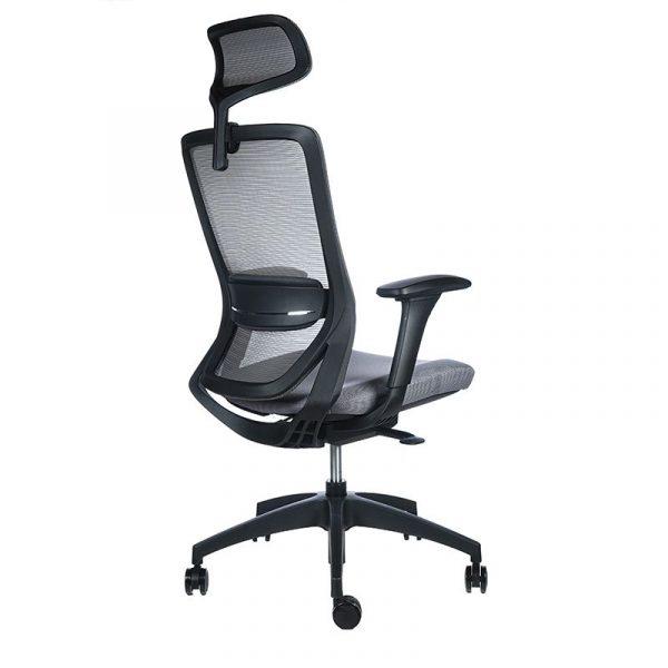 Twist negra asiento gris 4