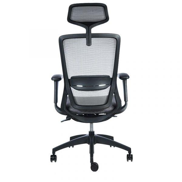 Twist negra asiento gris 5