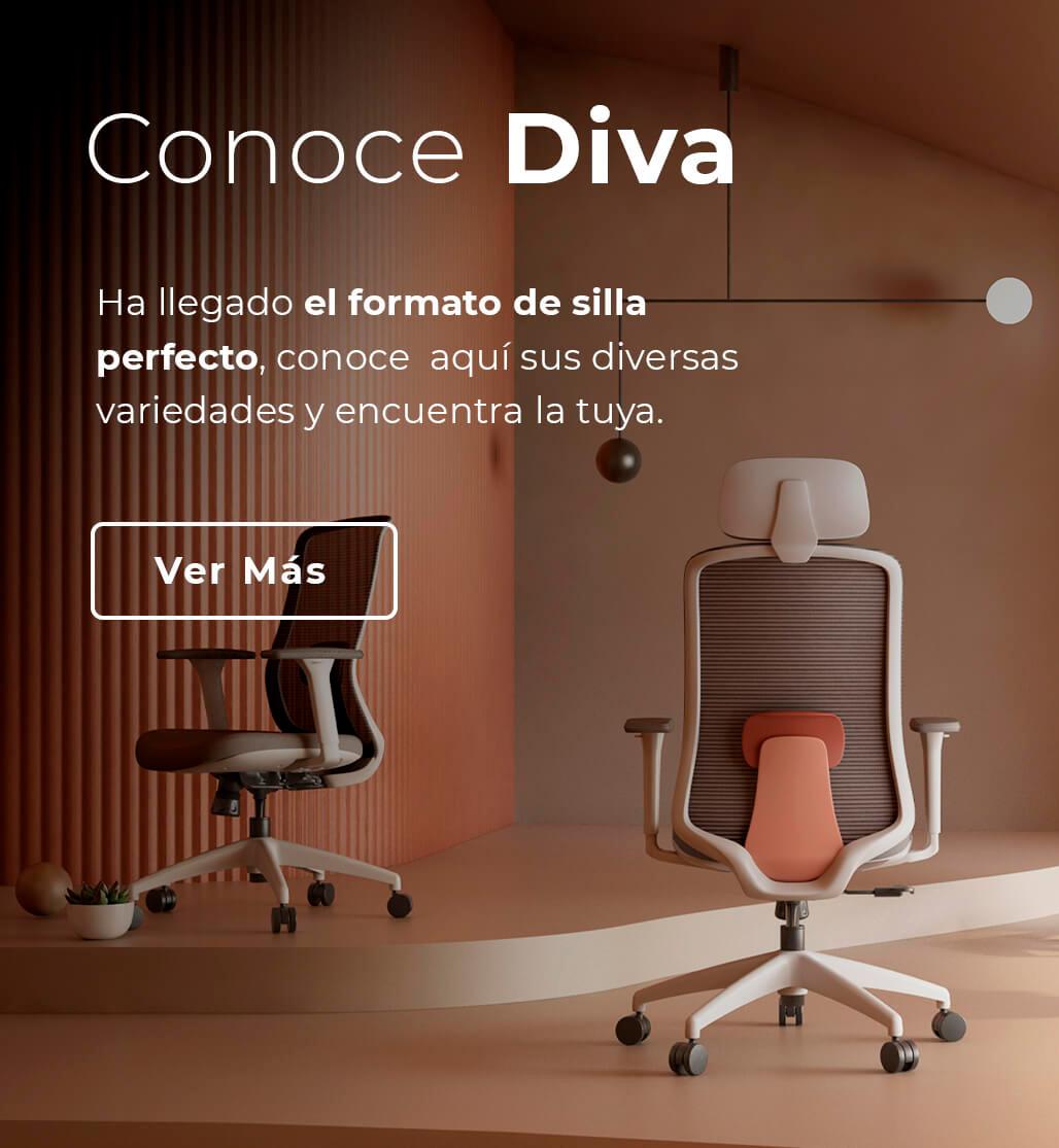 Conoce Diva - Silla Escritorio