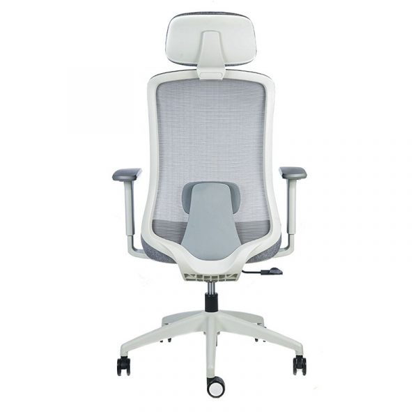 silla escritorio Diva gris cabecero apoyo gris 5