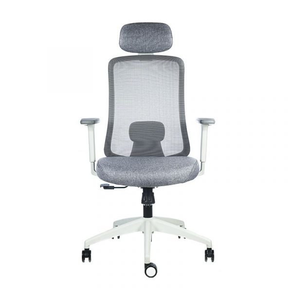 silla escritorio Diva gris cabecero apoyo gris 6