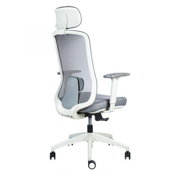 silla escritorio Diva gris cabecero apoyo gris 9