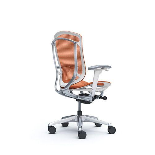 silla escritorio contessa seconda naranja 02