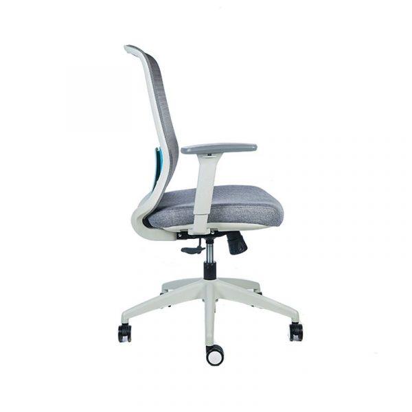 silla escritorio diva gris azul 3