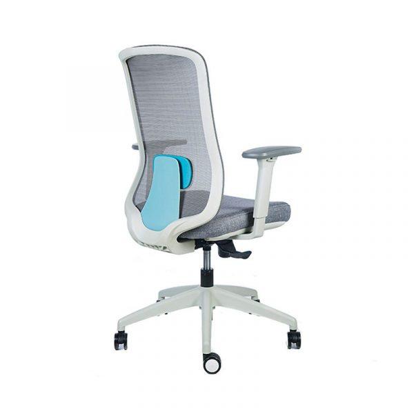 silla escritorio diva gris azul 4